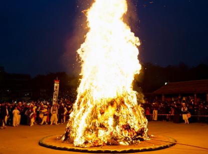 정월대보름축제 사진